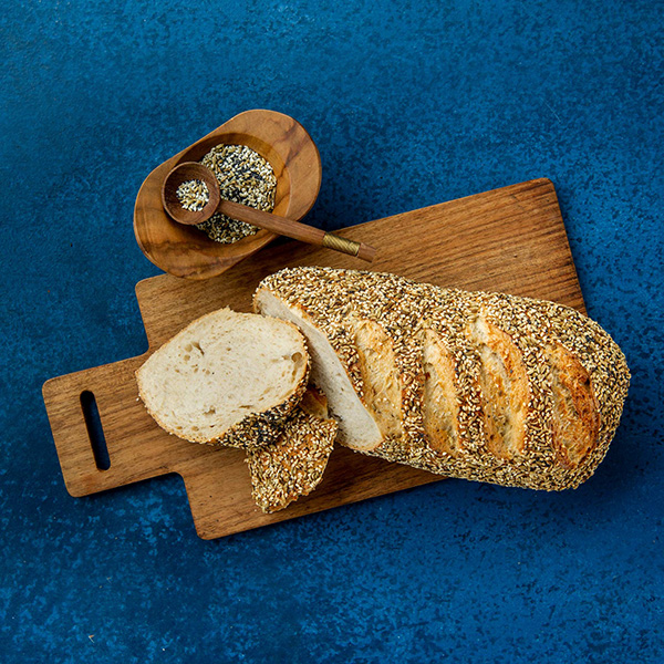 3 Seeds Sourdough Bread