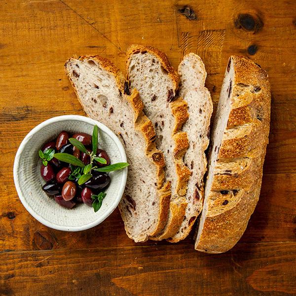 Olives and Oregano Sourdough Bread