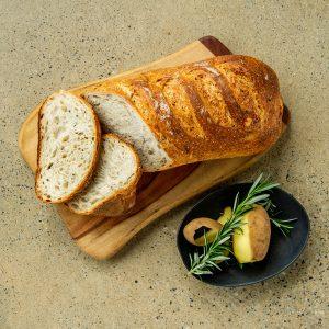 Potato and Rosemary Sourdough Bread